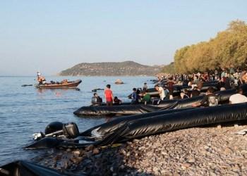 """Ο Ερντογάν """"έπνιξε"""" τη Λέσβο με 600+ μετανάστες σε μια μέρα!(upd) 27"""