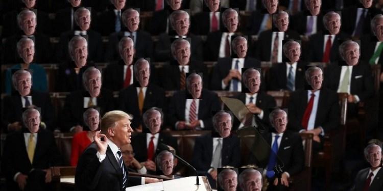 Γερουσία και Βουλή αδειάζουν ανοιχτά τον Τραμπ 23