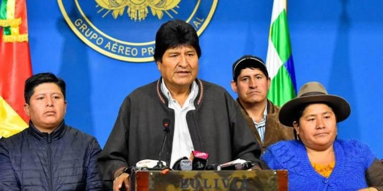 Βολιβία: Πραξικόπημα καταγγέλλει ο Έβο Μοράλες 24