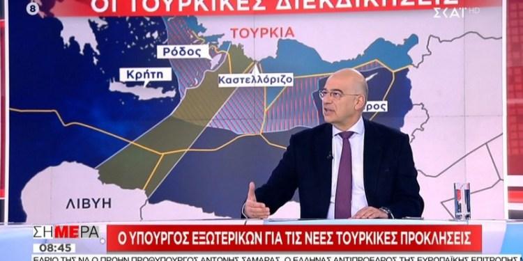 Στα... κανάλια συνεχίζει ο Δένδιας την αντιπαράθεση με την Τουρκία 23