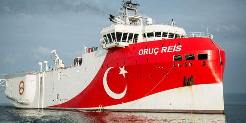 Το ερευνητικό σκάφος Oruc Reis