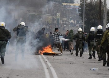 Αποχωρούν τα ΜΑΤ από Λέσβο, Χίο. - Ο Μητσοτάκης καλεί περιφεριάρχες 26