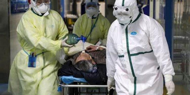 Hazmat suits, dead people