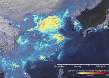 EU Space Agency: Μειώθηκε η μόλυνση της ατμόσφαιρας στην Κίνα, λόγω κορονοϊού 30