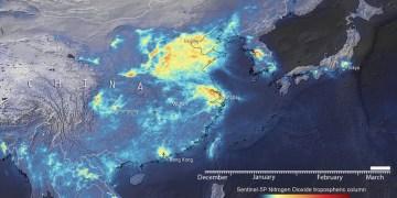 EU Space Agency: Μειώθηκε η μόλυνση της ατμόσφαιρας στην Κίνα, λόγω κορονοϊού 1