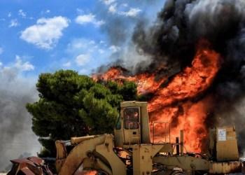 Μεγάλη φωτιά στη Χίο 24