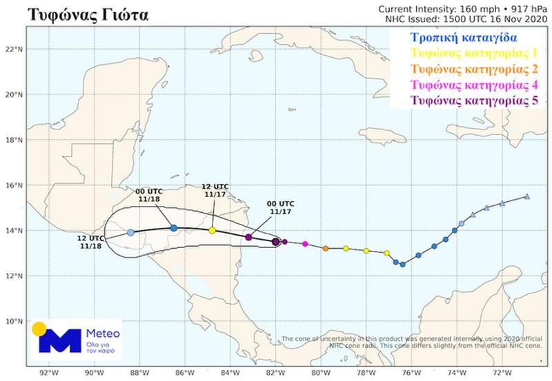 Τυφώνας Γιώτα