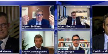 Ο Κυριάκος Μητσοτάκης στο World Economic Forum