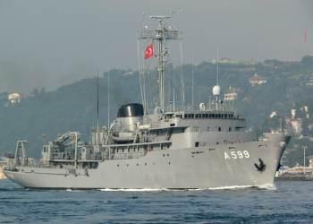 Το τουρκικό ερευνητικό πλοίο Cesme