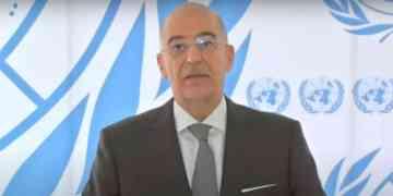 Δηλώσεις του Νίκου Δένδια μετά την ολοκλήρωση της άτυπης Πενταμερούς για την Κύπρο