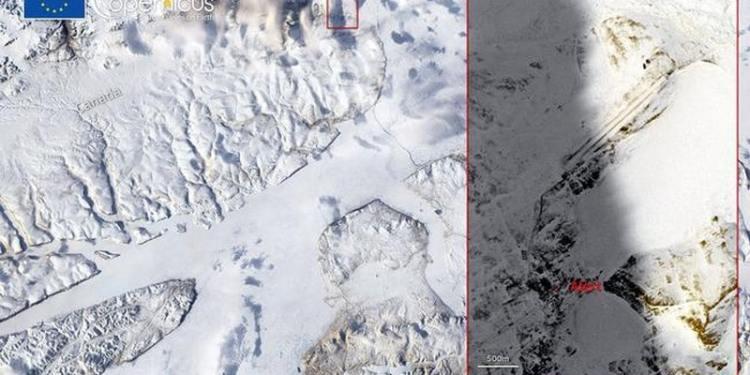 Copernicus: Ρεκόρ θερμοκρασίας Απριλίου στην καναδική Αρκτική