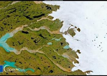 Copernicus: Ασυνήθιστη ανάκτηση πάγου και χιονιού στην Γροιλανδία