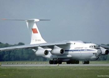 ρωσικό στρατιωτικό μεταγωγικό αεροσκάφος Il-76