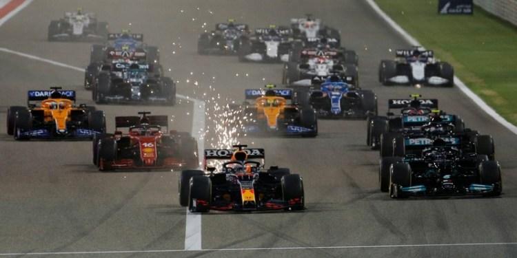Formula one spinning