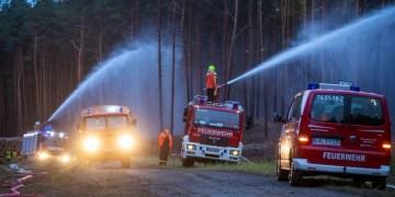 Γερμανία, δασική φωτιά