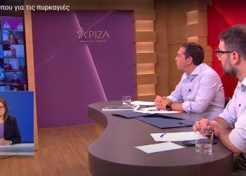 Αλέξης Τσίπρας και Νάσος Ηλιόπουλος
