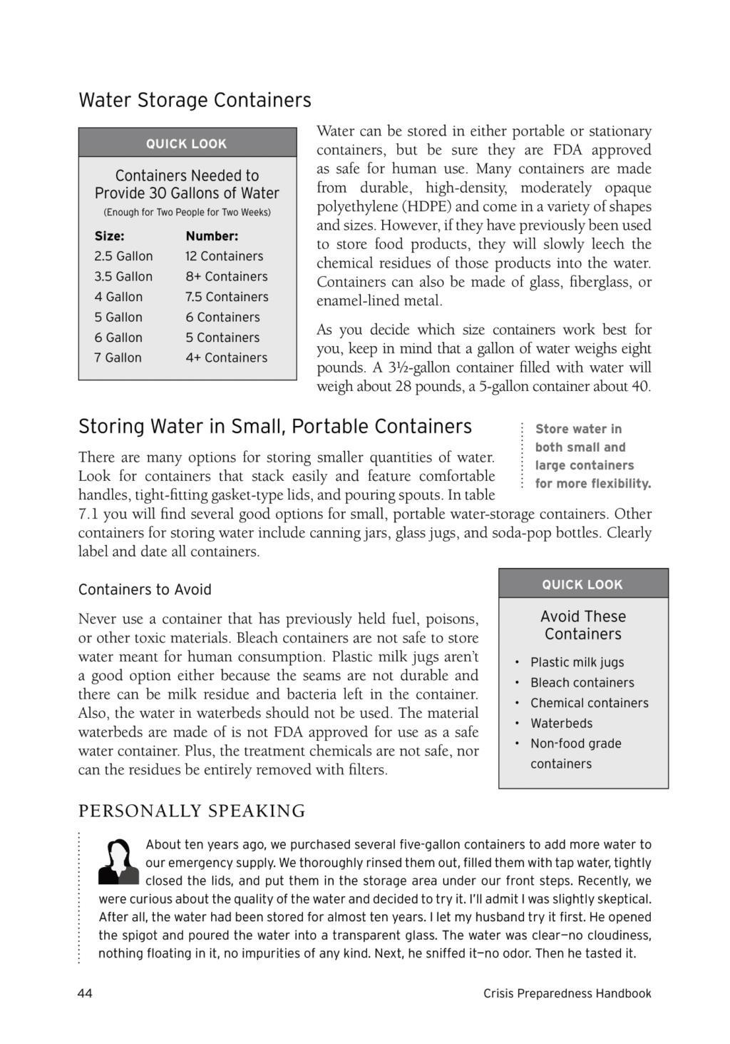 Crisis Preparedness Handbook