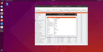 Ubuntu System Monitor - Right-Click Properties
