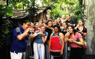 Building relationships in El Salvador