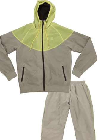 DOUBLE NEEDLE HIGHLIGHTER JACKET/PANT