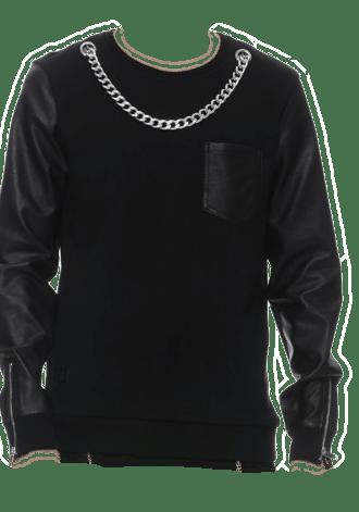 BLACK KAVIAR SIRVANA SWEATSHIRT