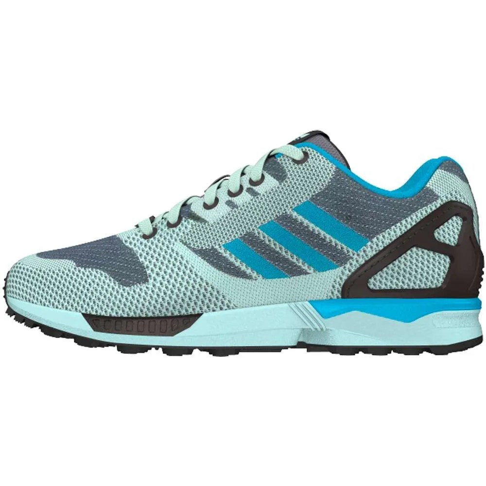 the latest e3465 52c48 adidas ZX Flux Weave Trainers