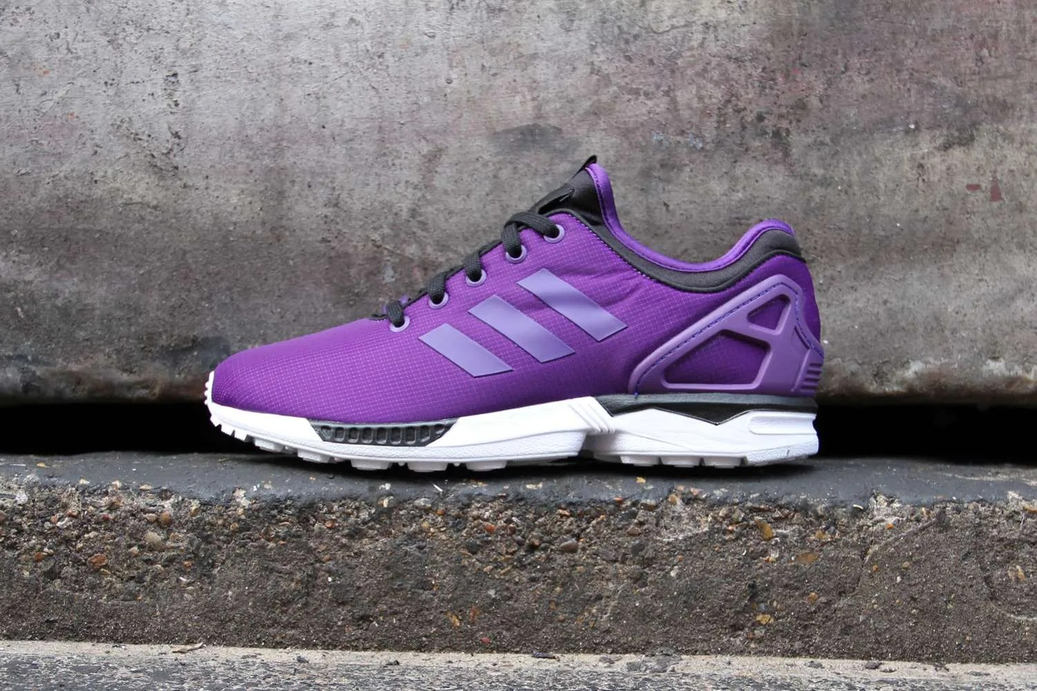 le dernier 055e7 8d87e adidas Originals ZX Flux NPS Trainers 'Purple' - Crisp Culture