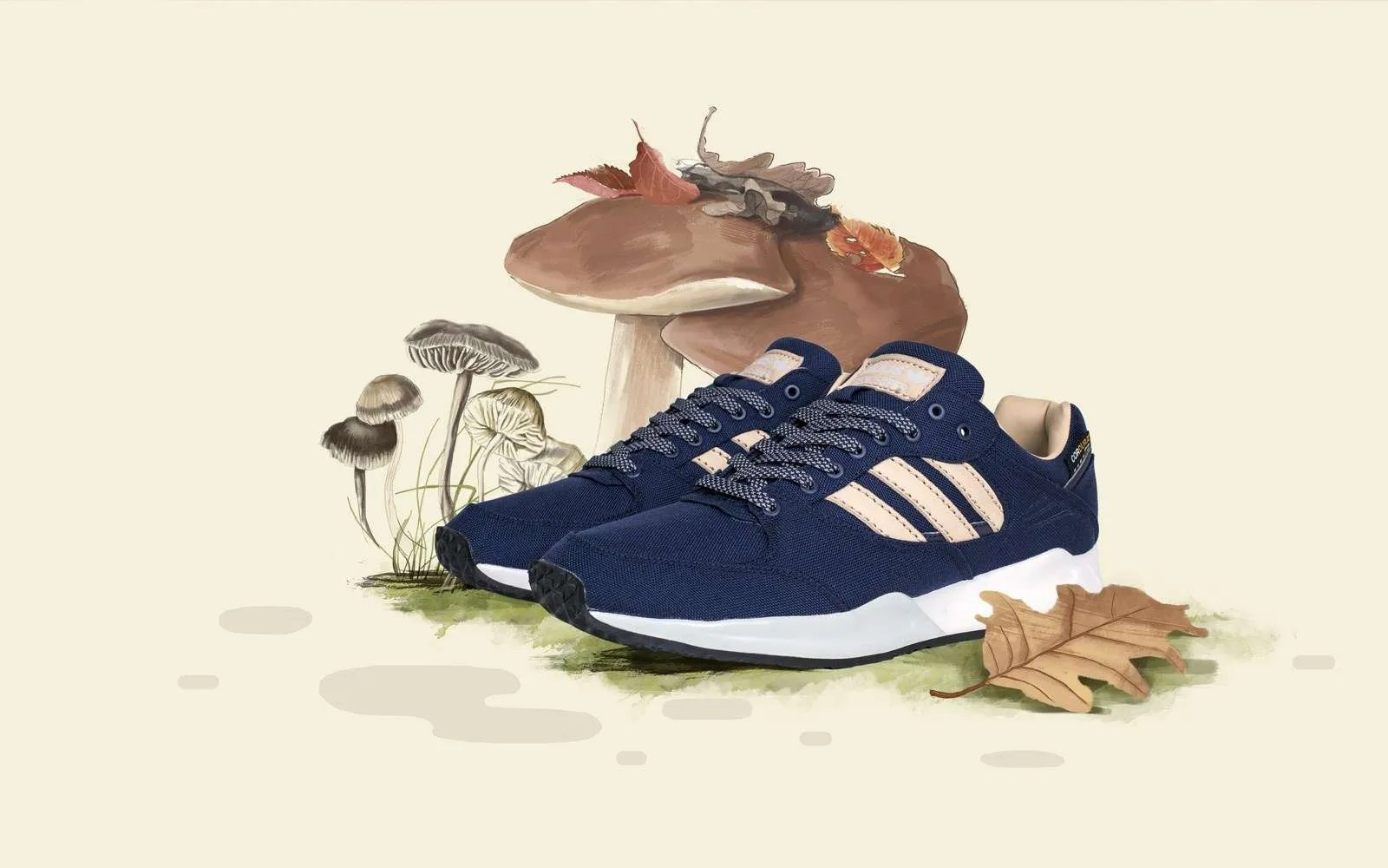 the latest 578fa 65fc6 Sneakersnstuff x adidas Originals Tech Super  Autumn Stories