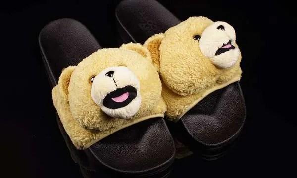 e51941c517f7 adidas Originals x Jeremy Scott Teddy Bear Sandals - Crisp Culture