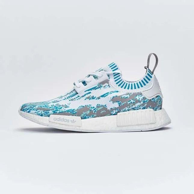 Sneakersnstuff x adidas Originals NMD_R1 Datamosh Pack