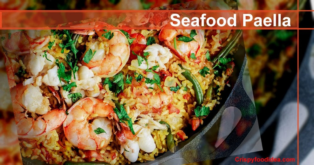 Easy Seafood Paella Recipe | Seafood Paella Recipe