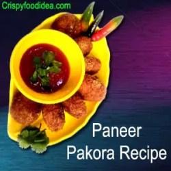 Paneer Pakora Recipe | Paneer Pakoda