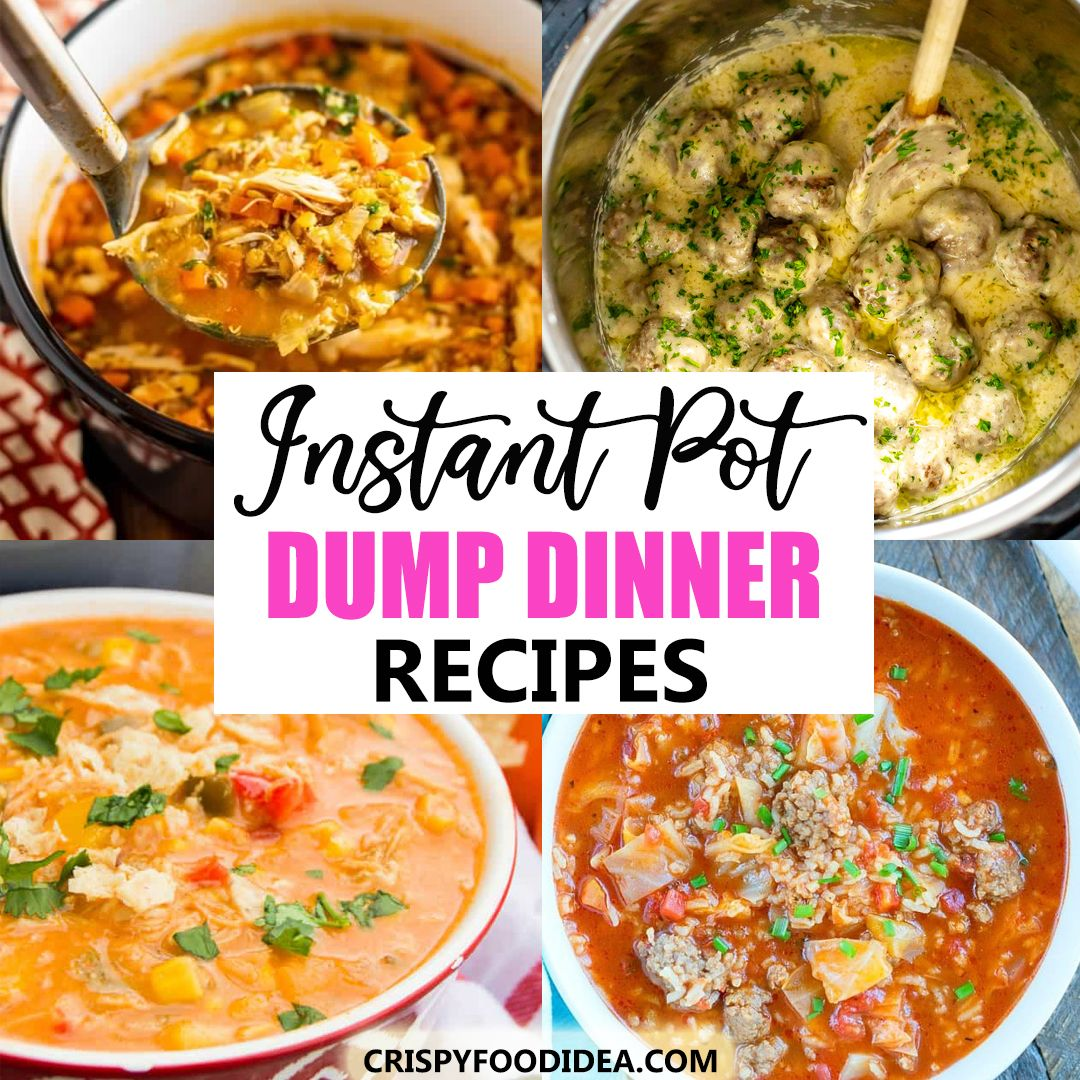 Instant Pot Dump Dinner Recipes