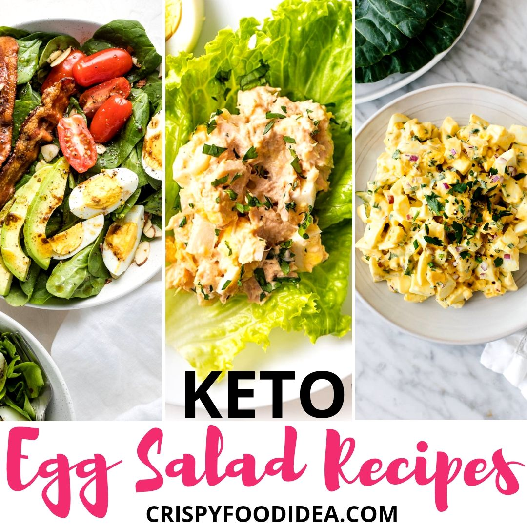 Keto Egg Salad Recipes