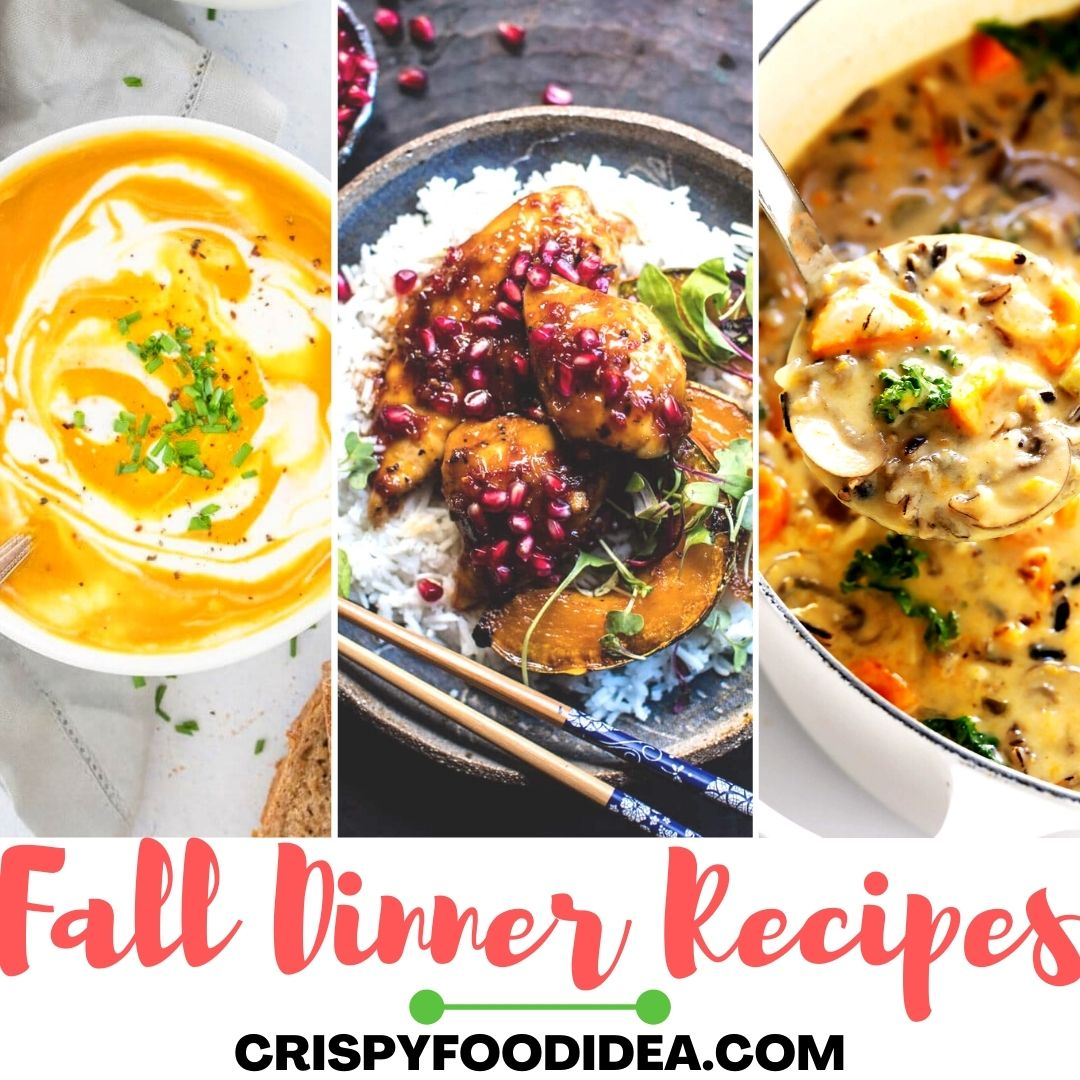 Fall Dinner Recipes