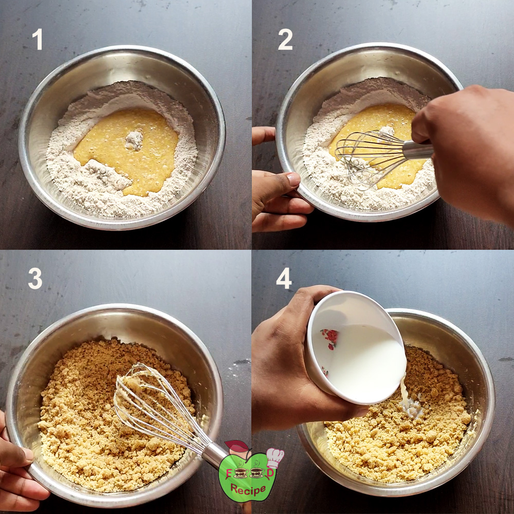 Knead the dough for cookies