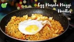 Egg Masala Maggi | Masala Egg Maggi