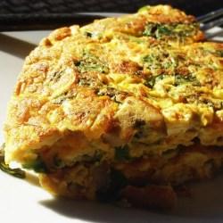 Slow Cooker Vegetable Omlette