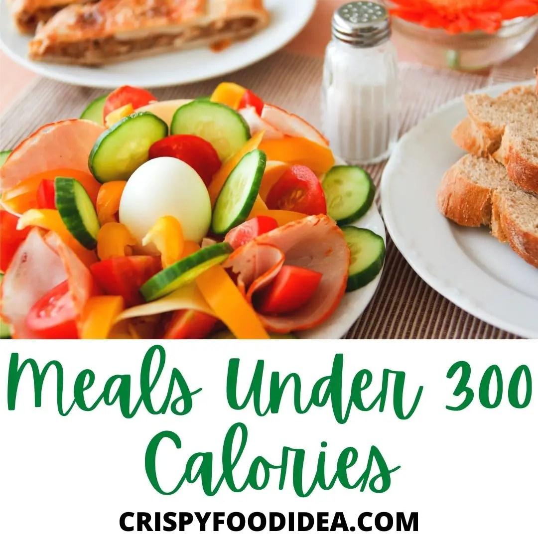 Meals Under 300 Calories