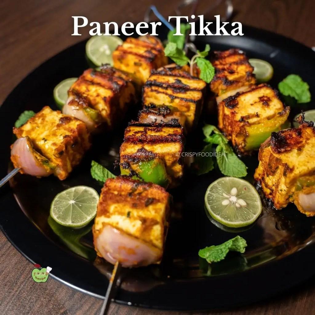 Restaurant Style Paneer Tikka