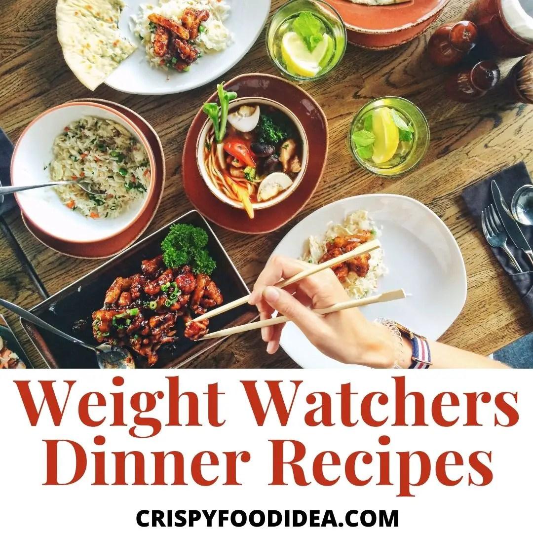 weight watchers dinner recipes (1)