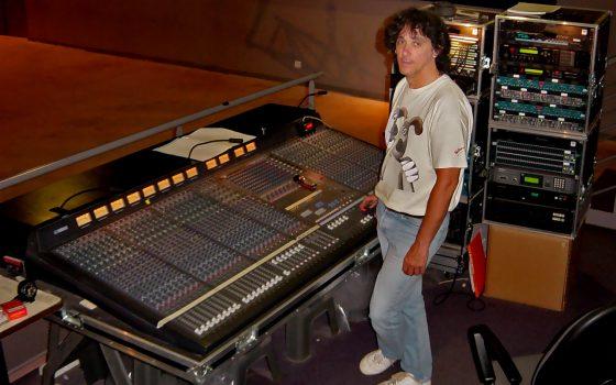 Olivier Grall - ingénieur du son