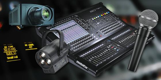 Cristal Audio Pro : vente de matériel son, lumière et vidéo