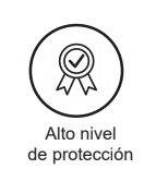 Alto nivel proteccion