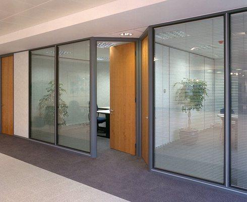 Mamparas de cristal para oficina 2