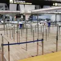 Acristalamiento en el Aeropuerto de Sevilla