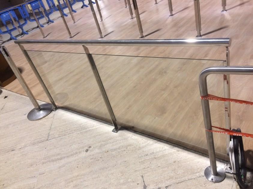 Acristalamiento en el aeropuerto de Sevilla 4