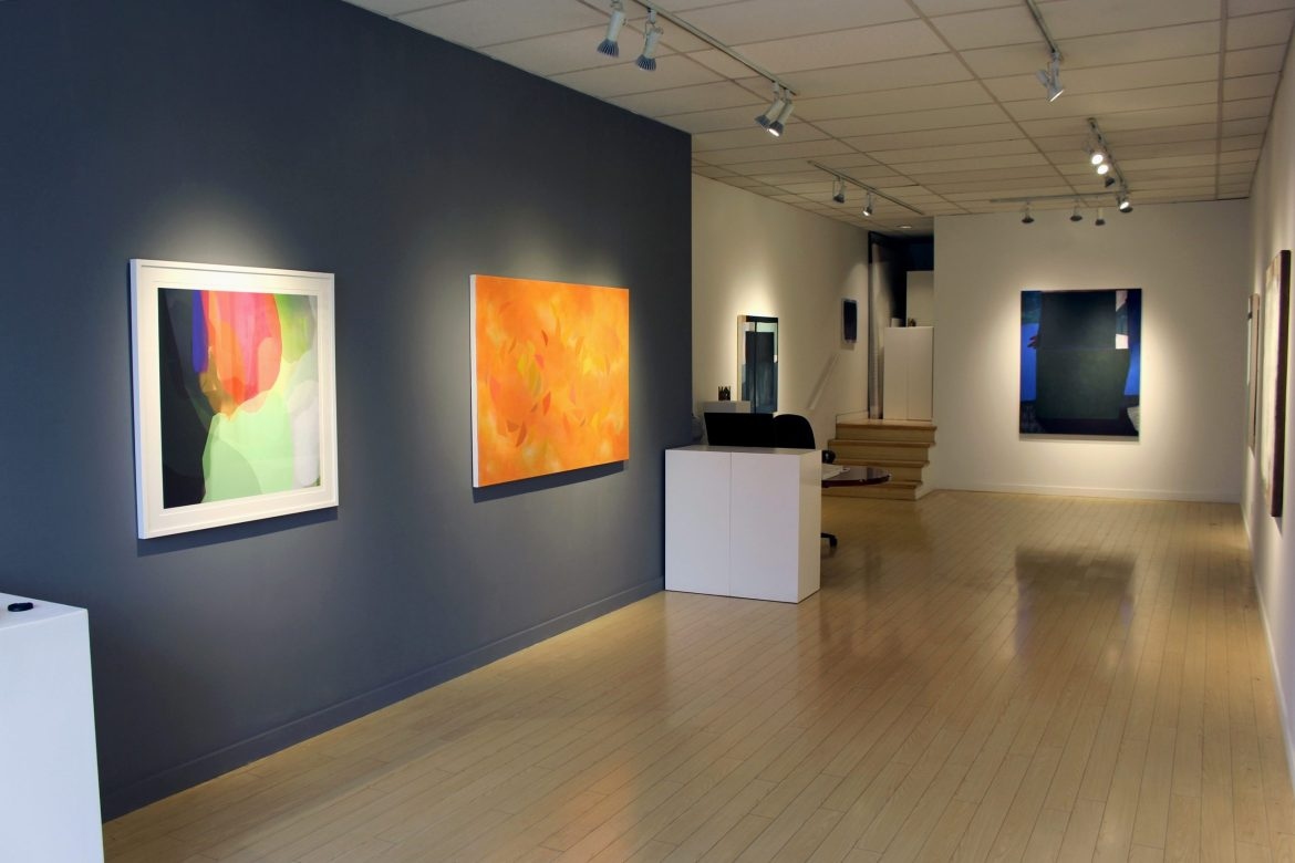 Shape Form Colour Line, abstract painting, contemporary art, Vancouver, art gallery Elissa Cristall Gallery