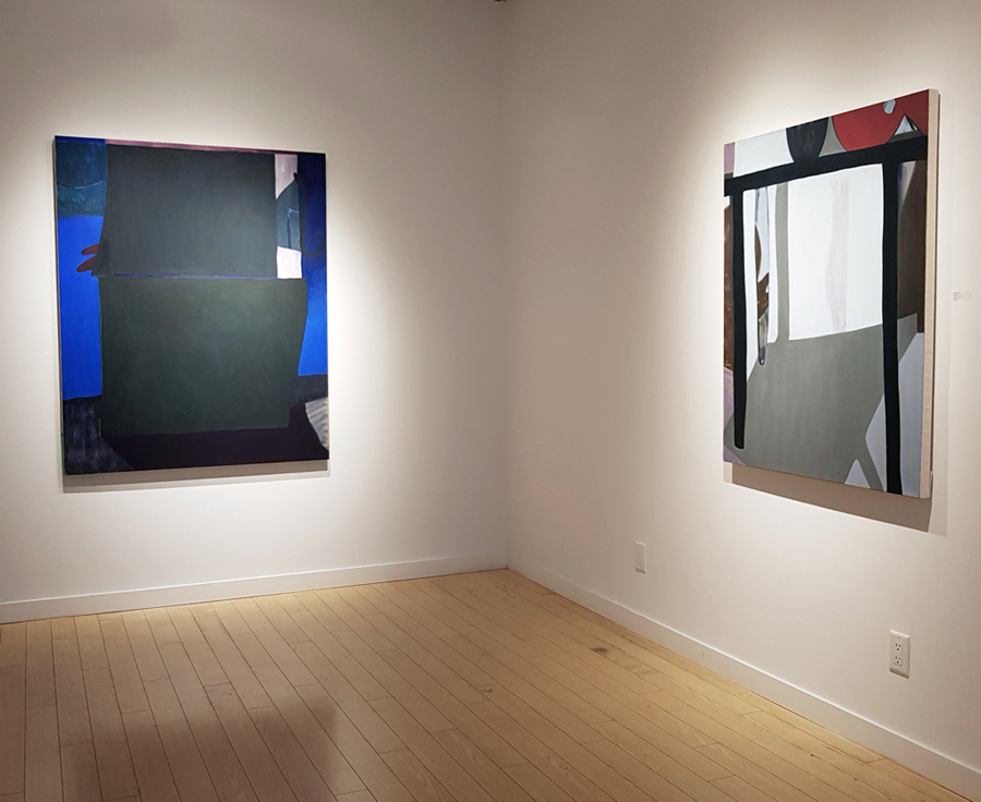 M.E. Sparks, Shape Form Colour Line, abstract painting, contemporary art, Vancouver, art gallery Elissa Cristall Gallery
