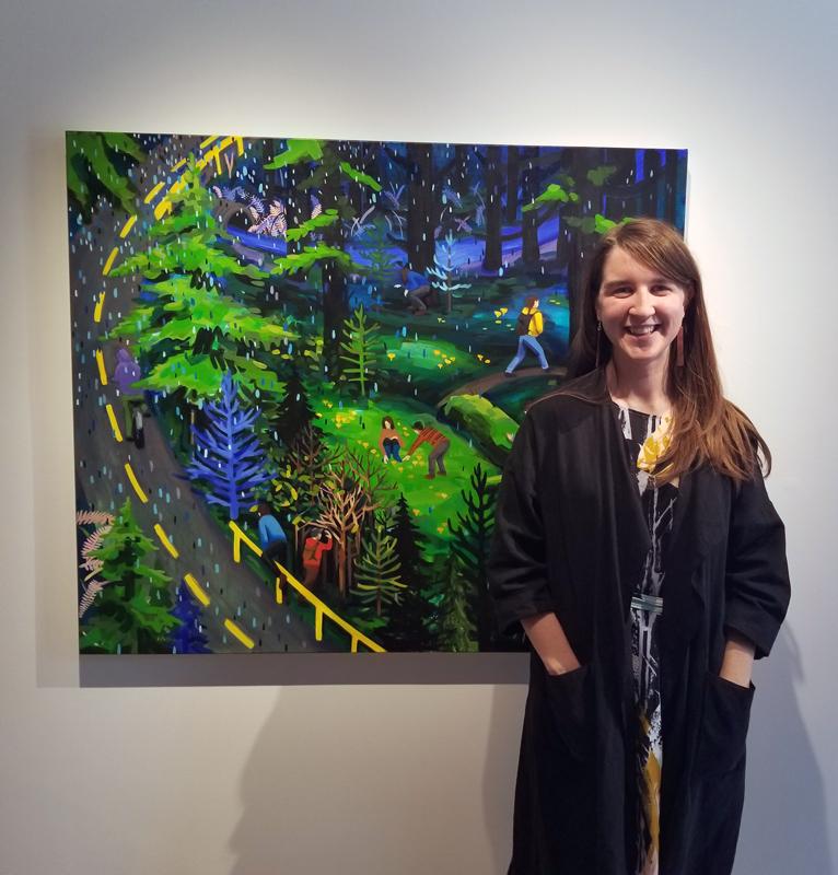 figurative, landscape, contemporary art, Vancouver, Elissa Cristall Gallery